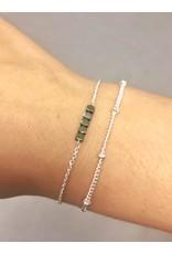 Label Kiki Dot Chain Bracelet Silver