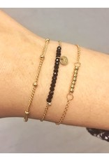 Label Kiki Dot Chain Bracelet Gold