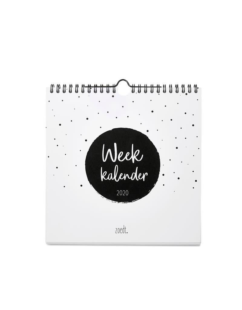 Zoedt Zoedt Weekkalender 2020