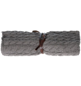 Pimps and Pearls Cable Knit XL 04 Rocky Nature Sjaal