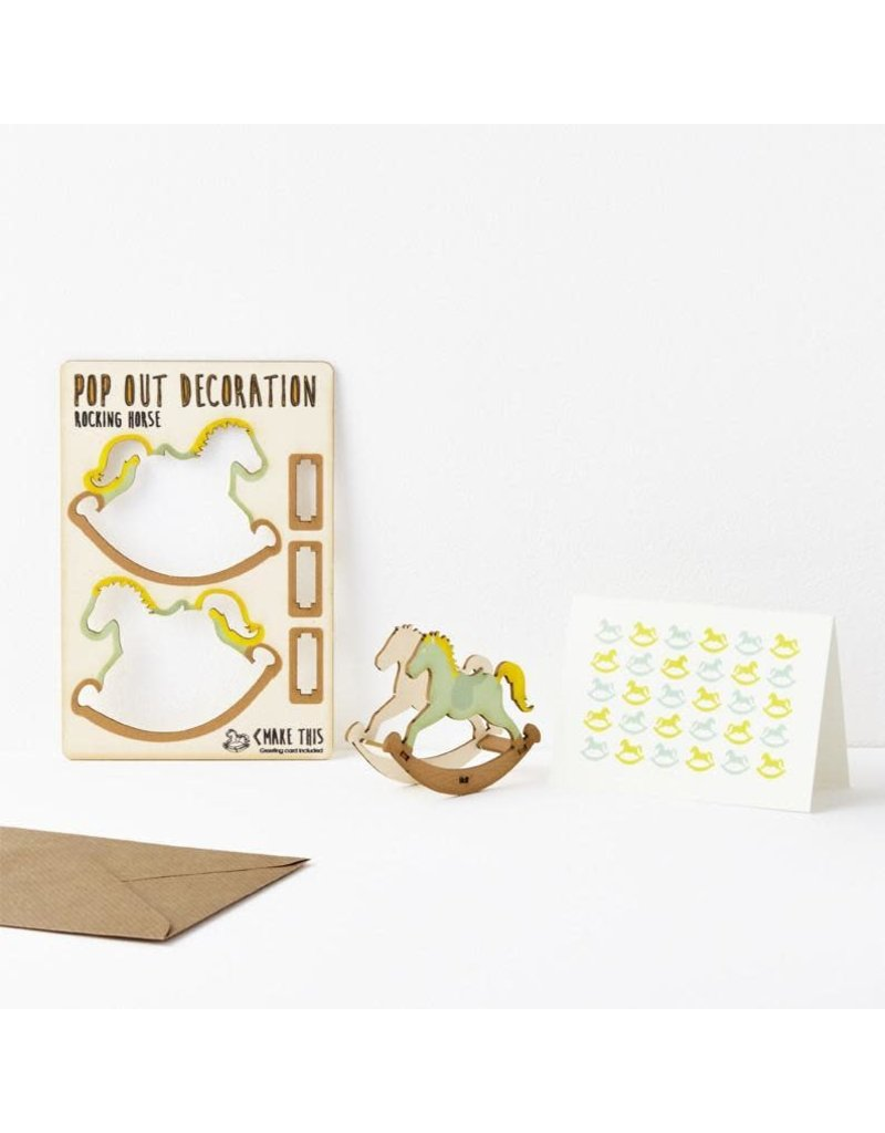 The Pop Out Card Company Pop Out Card - Hout -