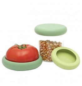 Food Huggers Food Huggers Large - Soft Green - Set 3