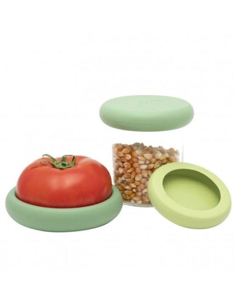 Food Huggers Food Huggers Large - Soft Green - Set 3
