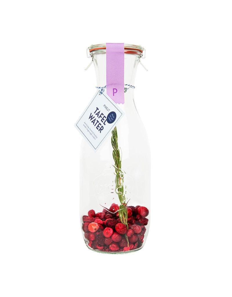 Pineut Tafelwater - Cranberry / Kers / Rozemarijn