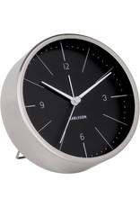 Karlsson Alarm Clock / Wekker - Normann Black