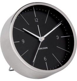Karlsson Alarm Clock Wekker - Normann Black
