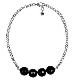 Pimps and Pearls Necklace Rough Gotcha 01 Onyx Facet