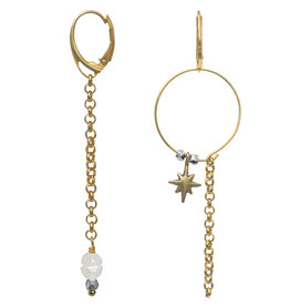 Pimps and Pearls Ear Fashion 19 Bohemian Star Gold