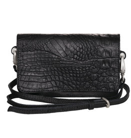 Pimps and Pearls Tasss 15 Croco Paris 01 Black