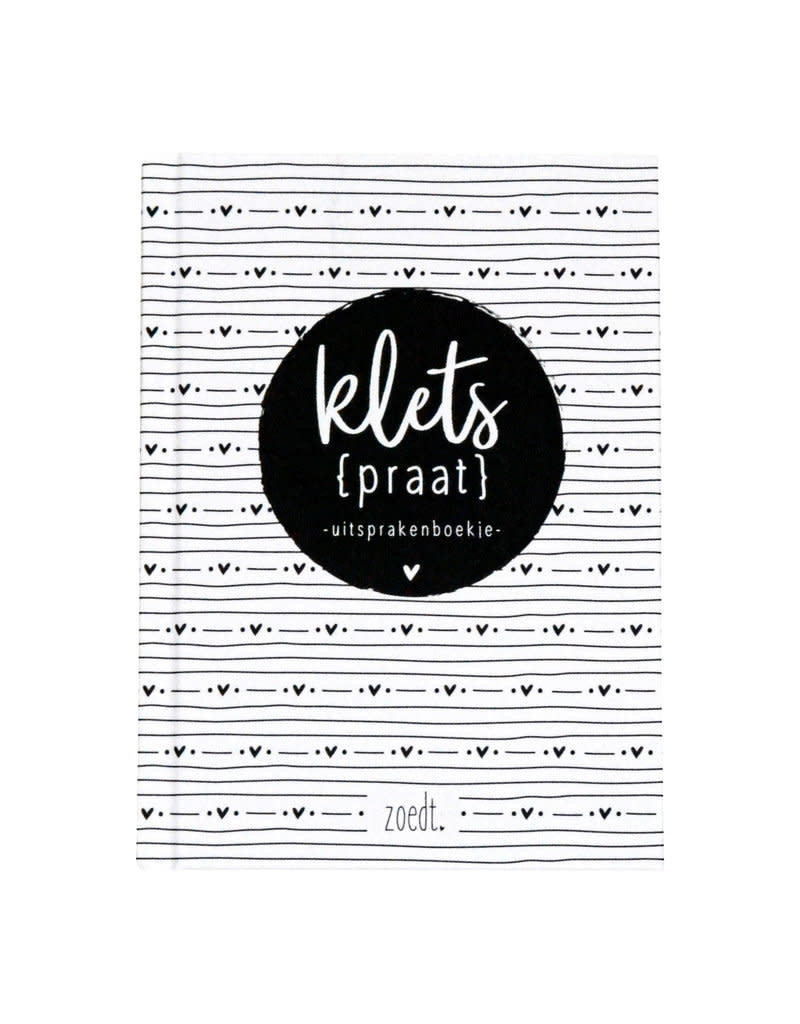 Zoedt Kletspraat uitsprakenboekje