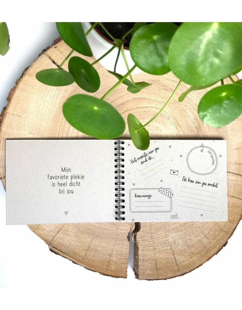 Zoedt Valentijn invulboekje - Kook van jou