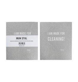Mijn Stijl Vaatdoek 100% biodegradable I am made for cleaning!