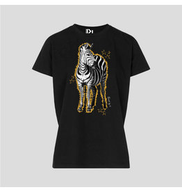 PiNNED by K T-Shirt Zebra Yellow