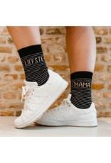 100% Leuk Sokken – Mama - Voor mijn heldin op sokken