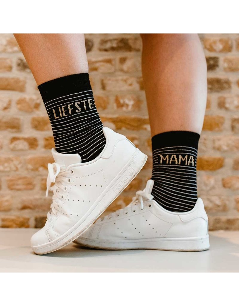 100% Leuk Sokken – Voor mijn heldin op sokken