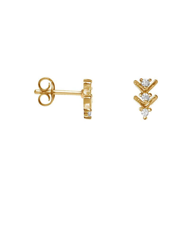 Label Kiki Shiny Arrow Earring Gold