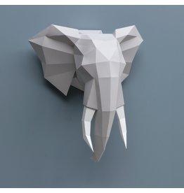 Assembli Papieren Dierenkoppen - Olifant -