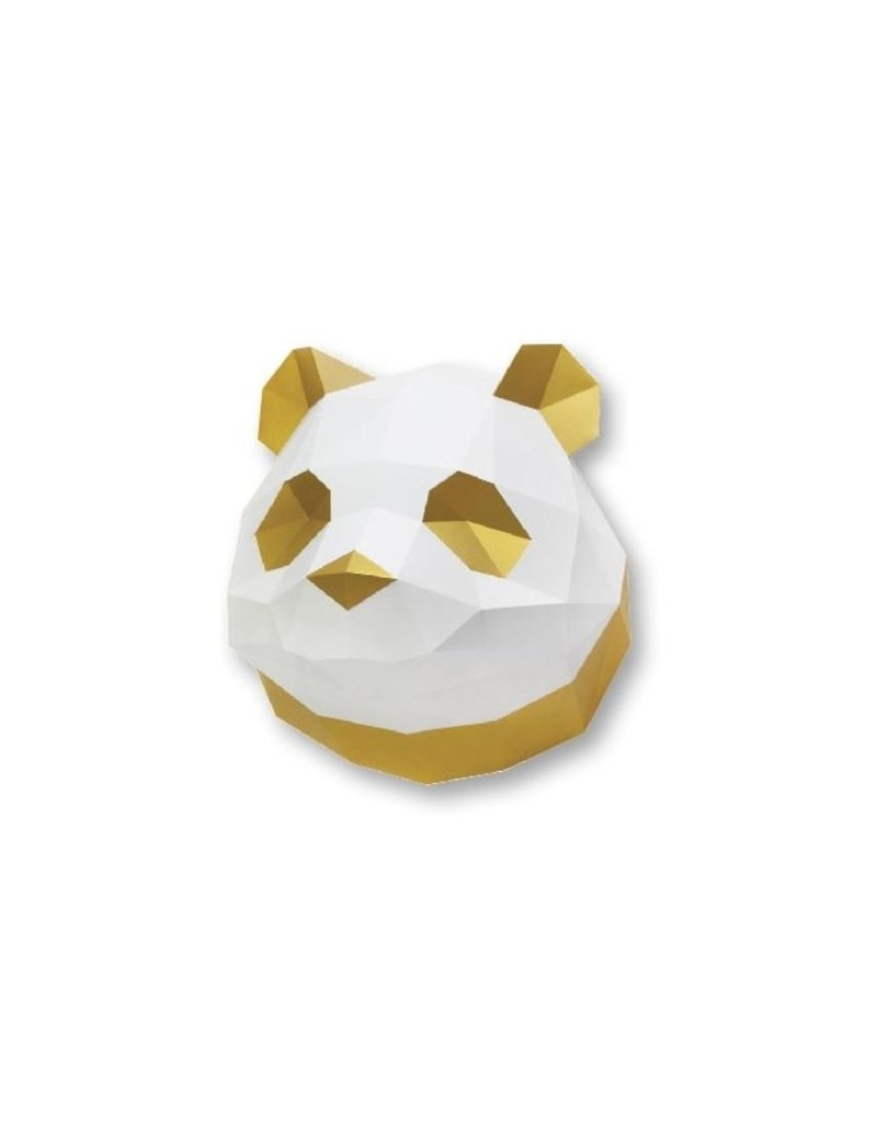 Assembli Papieren Dierenkoppen - Panda -
