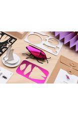 Assembli Papieren 3D Insecten - Jewel Kever -