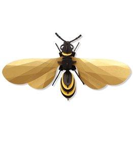Assembli Papieren 3D Insecten - Wesp -