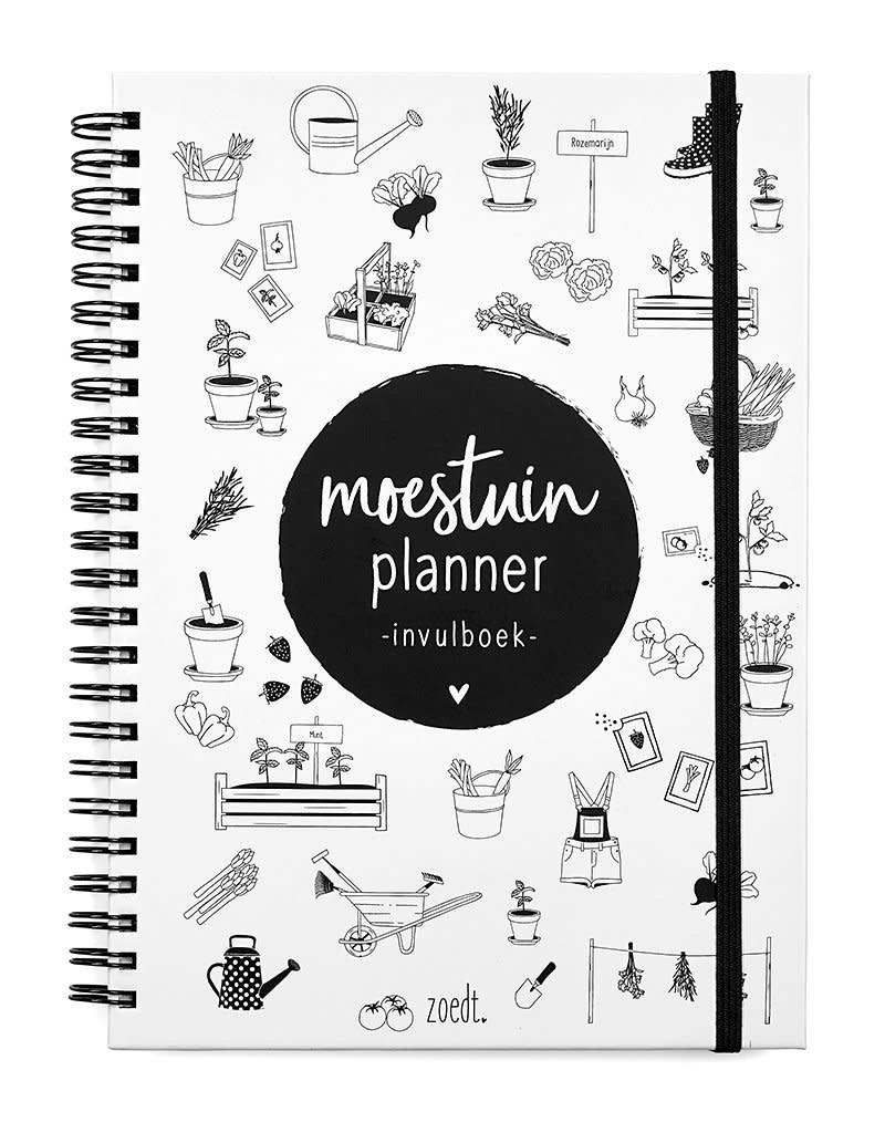 Zoedt Moestuinplanner - invulboek