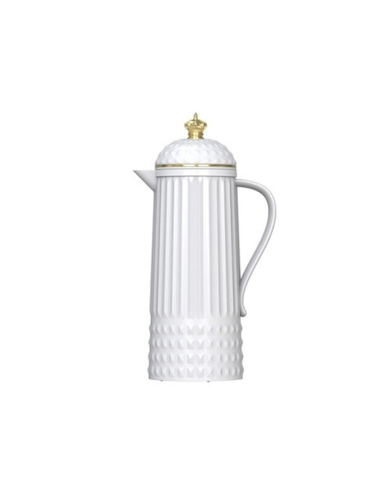 Bijzonder Design Store Thermos Fles - Bottle Crown - White