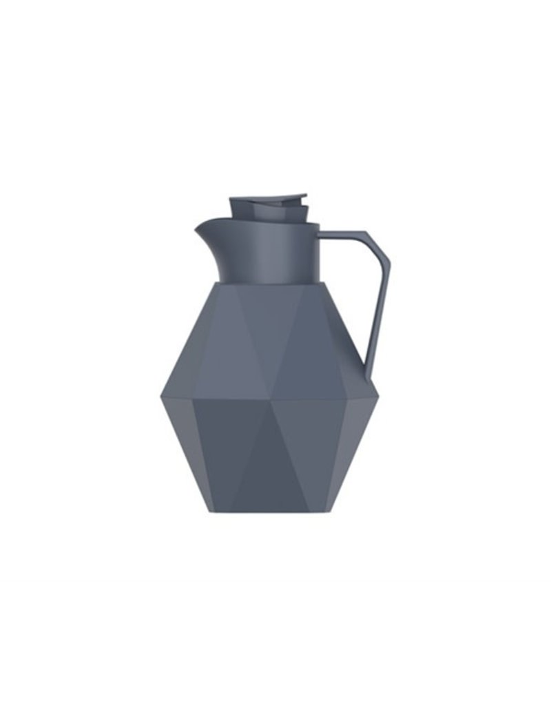Bijzonder Design Store Thermos Fles - Bottle Origami - Mat Dark Grey
