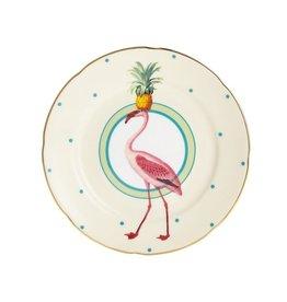 Yvonne Ellen Gebaksbord Flamingo 16cm