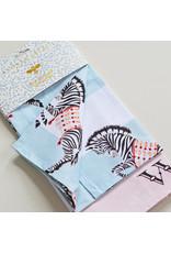 Yvonne Ellen Theedoeken Set van 2 - Olifant en Zebra