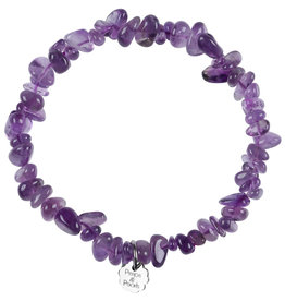 Pimps and Pearls Birthstone Bracelet Rocks 02 Amethyst