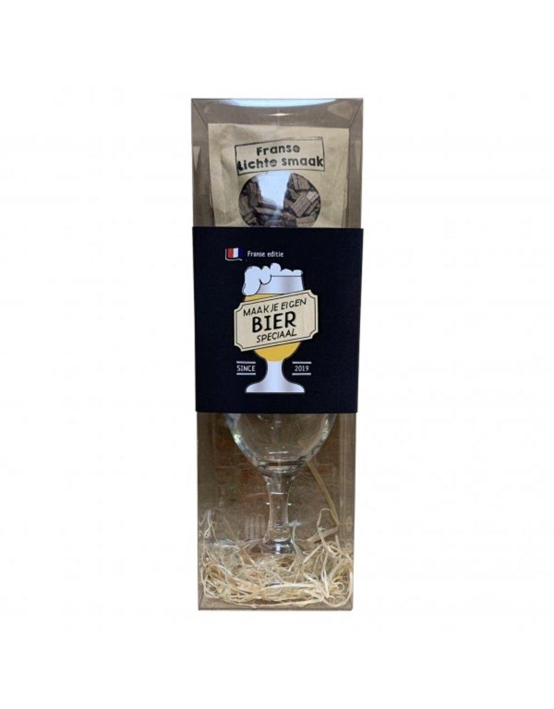 The Big Gifts Maak je eigen bier speciaal pakket - Franse editie
