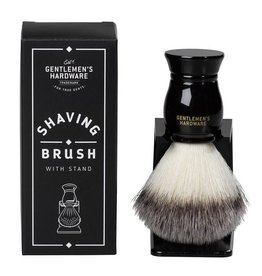 Gentlemen's Hardware Scheerkwast met standaard - Shaving brush and Stand