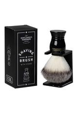 Gentlemen's Hardware Scheerkwast met standaard - Shaving brush and Stand