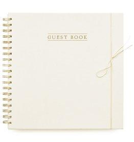 House of Products Guestbook - Gastenboek - Linnen - Ivoor