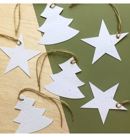 Bloom Bloom - Christmas Hangtags - 6 stuks