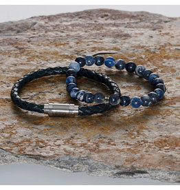 Pimps and Pearls Spicey Men Set 08 Sodalite Blue