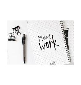 Zoedt Werkplanner - Bullets patroon