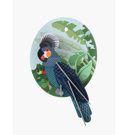 Studio Roof Wall Decoration - Grey Parrot