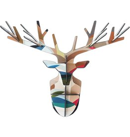 Studio Roof Enchanted Deer Leaf - Large Wall Decoration