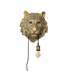 Bijzonder Design Store Tijger Lamp - Hangend Goud