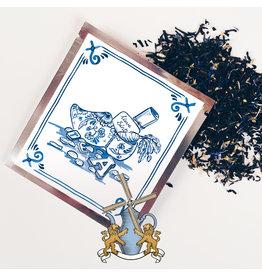 Tea Netherlands Thee Tegeltje Delfts Blauw