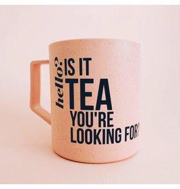 Tea Netherlands Theebeker 'Is it tea you're looking for?
