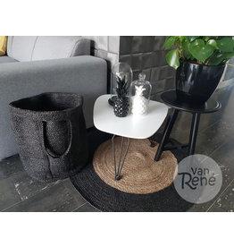 Bijzonder Design Store Jute Mand Large - Zwart