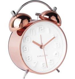 Karlsson Alarm clock Wekker Mr White Copper