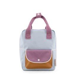 Sticky Lemon Sticky Lemon Backpack Wanderer Small - Blue-Purple-Caramel