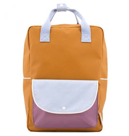 Sticky Lemon Sticky Lemon Backpack Wanderer Large - Caramel Fudge-Blue-Purple