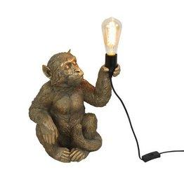 Bijzonder Design Store Aap  Lamp - Zittend Goud