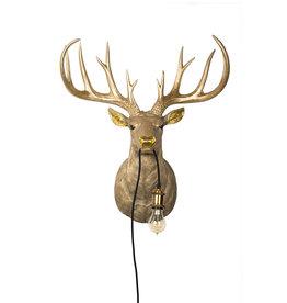 Bijzonder Design Store Hert Lamp - Hangend Groot - Goud