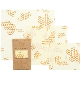 Bee's Wrap Bee's wrap herbruikbaar Starter Set 3-Pack S-M-L