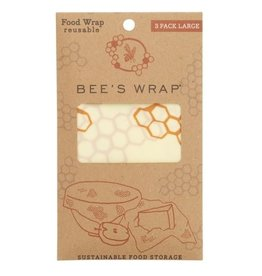 Bee's Wrap Bee's wrap herbruikbaar Large Wrap  3-Pack